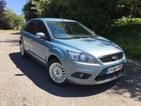 2008 FORD FOCUS 1.8 TITANIUM 5d 125 BHP PLEASE CALL TO VIEW £4450.00