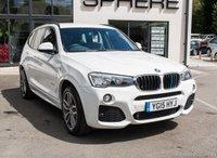 2015 BMW X3 2.0 XDRIVE20D M SPORT 5d AUTO 188 BHP £SOLD