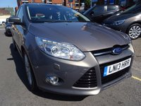 USED 2013 13 FORD FOCUS 1.6 TITANIUM X TDCI 5d 113 BHP  LUNAR SKY/ GREY 1/2 LEATHER