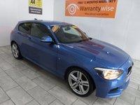 USED 2014 63 BMW 1 SERIES 2.0 118D M SPORT 3d AUTO 141 BHP