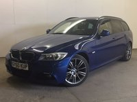 USED 2010 60 BMW 3 SERIES 2.0 320D SPORT PLUS EDITION TOURING 5d AUTO 181 BHP LEATHER ONE OWNER FSH M SPORT BODYKIT. STUNNING BLUE MET WITH FULL BIACK LEATHER TRIM. CRUISE CONTROL. 18 INCH ALLOYS. COLOUR CODED TRIMS. PRIVACY GLASS. PARKING SENSORS. BLUETOOTH PREP. CLIMATE CONTROL. TRIP COMPUTER. R/CD PLAYER. MFSW. MOT 06/18. ONE OWNER FROM NEW. FULL SERVICE HISTORY. PRISTINE CONDITION. FCA FINANCE APPROVED DEALER. TEL 01937 849492.