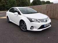 2015 TOYOTA AVENSIS 2.0 D-4D ICON BUSINESS EDITION 4d 124 BHP £9950.00