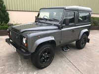 USED 1993 LAND ROVER DEFENDER 90 2.5 DEFENDER 90 TDI HT 1d 107 BHP GALVANISHED CHASSIS+BULKHEAD, CORRIS GREY, BLACK BOOST ALLOYS