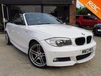 2013 BMW 1 SERIES  CONVERTIBLE 2.0 118D SPORT PLUS EDITION 2d 141 BHP £13000.00