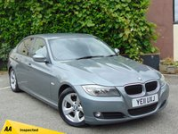 USED 2011 11 BMW 3 SERIES 2.0 320D EFFICIENTDYNAMICS 4d  * 128 POINT AA INSPECTED * £20 ROAD TAX*