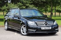 2013 MERCEDES-BENZ C CLASS 2.1 C220 CDI BLUEEFFICIENCY AMG SPORT 5d AUTO 168 BHP £13980.00