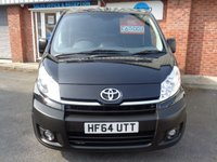 USED 2014 64 TOYOTA PROACE 2.0 L1H1 HDI 1200 P/V 1d 127 BHP