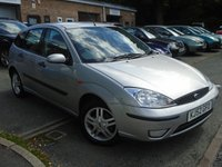 USED 2002 52 FORD FOCUS 1.6 ZETEC 5d 99 BHP GREAT VALUE+NEW MOT ON SALE