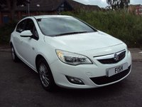 USED 2010 10 VAUXHALL ASTRA 1.4 EXCLUSIV 5d 98BHP UPGRADED ALLOYS+AIRCON+CD+PAS+