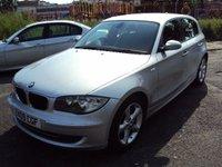 USED 2009 09 BMW 1 SERIES 2.0 116D SPORT 5d 114BHP 30 ROAD TAX+1 FORM KEEPER+TOP+