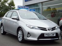 USED 2014 64 TOYOTA AURIS 1.33 VVT-i  ICON 5dr