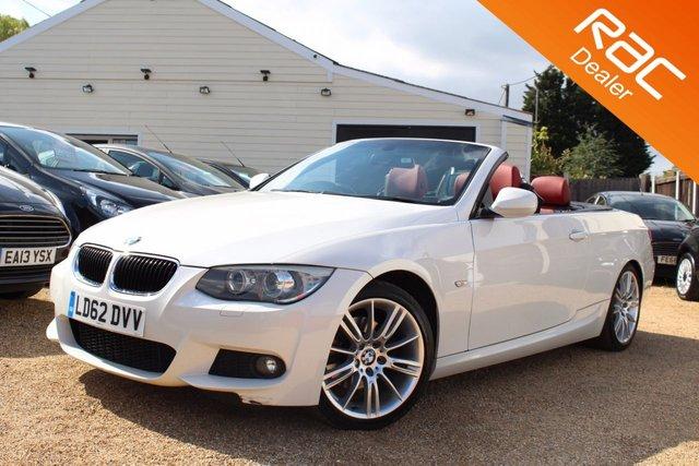 View our 2012 62 BMW 3 SERIES 2.0 320D M SPORT 2d AUTO 181 BHP