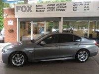 2011 BMW 5 SERIES 2.0 520D M SPORT 4d AUTO 181 BHP £13975.00