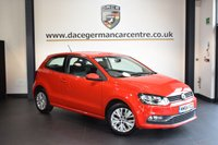 USED 2015 64 VOLKSWAGEN POLO 1.0 SE 3DR 60 BHP + FULL VW SERVICE HISTORY + 1 OWNER FROM NEW + BLUETOOTH + DAB RADIO + USB/AUX PORT + HEATED MIRRORS + 15 INCH ALLOY WHEELS +