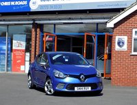 USED 2014 14 RENAULT CLIO 1.2 GT LINE TCE EDC 5dr AUTO 120 BHP * Sat Nav * *ONLY 9.9% APR with FREE Servicing*