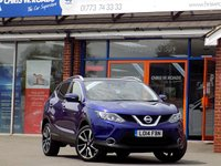 USED 2014 14 NISSAN QASHQAI 1.5 DCi TEKNA 5dr * Leather Nav & Pan Roof *