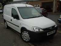 USED 2006 06 VAUXHALL COMBO VAN 1.2 2000 CDTI SWB H/C 1d 69 BHP NO VAT+NEW MOT ON SALE