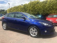 USED 2014 63 FORD FOCUS 1.6 TDCI TITANIUM NAVIGATOR 5d IN THE BEST COLOUR NO DEPOSIT PCP/HP  FINANCE ARRANGED, APPLY HERE NOW