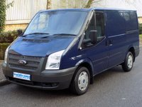 2013 FORD TRANSIT 2.2 FWD 260 SWB LOW ROOF 100 BHP 6 SPEED £5495.00