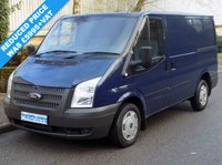 USED 2013 13 FORD TRANSIT 2.2 FWD 260 SWB LOW ROOF 100 BHP 6 SPEED 1 Owner, Full Service History