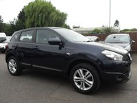 USED 2011 11 NISSAN QASHQAI 1.6 ACENTA 5d  VERY LOW MILEAGE EXAMPLE  NO DEPOSIT  FINANCE ARRANGED, APPLY HERE NOW