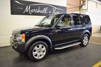 USED 2007 07 LAND ROVER DISCOVERY 3 2.7 3 TDV6 HSE 5d AUTO 188 BHP 7 SEATS