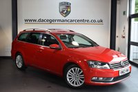 USED 2014 63 VOLKSWAGEN PASSAT 2.0 SPORT TDI BLUEMOTION TECHNOLOGY 5DR AUTO 139 BHP + FULL VW SERVICE HISTORY + 1 OWNER FROM NEW + SATELLITE NAVIGATION + BLUETOOTH + CRUISE CONTROL + PARKING SENSORS + 17 INCH ALLOY WHEELS +