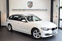 USED 2013 13 BMW 3 SERIES 2.0 318D SE TOURING 5DR 141 BHP + FULL BMW SERVICE HISTORY + 1 OWNER FROM NEW + BLUETOOTH + HEATED SEATS + CRUISE CONTROL + DAB RADIO + PARKING SENSORS + 17 INCH ALLOY WHEELS +