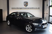 USED 2014 14 BMW 3 SERIES 2.0 320D SE 4DR 184 BHP + 1 OWNER FROM NEW + EXCELLENT SERVICE HSITORY + BUSINESS SATELLITE NAVIGATION + BLUETOOTH + CRUISE CONTROL + DAB RADIO + PARKING SENSORS + 17 INCH ALLOY WHEELS +