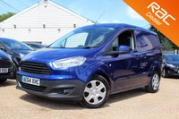 USED 2014 64 FORD TRANSIT COURIER 1.5 TREND TDCI 1d 74 BHP Sat Nav, Bluetooth, Reverse Camera