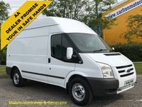 USED 2011 11 FORD TRANSIT 100 T350m High Roof [ Mobile Workshop+ Generator ] Van XBG Lease Printout history Free UK Delivery