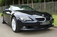 USED 2009 09 BMW 6 SERIES 3.0 635D EDITION SPORT 2d AUTO 282 BHP A STUNNING HIGH SPECIFICATION CAR WITH A FULL SERVICE HISTORY