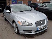 2011 JAGUAR XF 3.0 V6 PREMIUM LUXURY 4d AUTO 240 BHP £12480.00