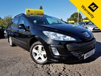 USED 2010 10 PEUGEOT 308 1.6 SW S HDI 5d 89 BHP! p/x welcome! 2 OWNERS! 45K miles only! PARKING AID! ALLOYS! NEW MOT & SERVICE!  2 OWNERS! 45K miles only! PARKING AID! NEW MOT! NEW SERVICE! EX-CONDITION!