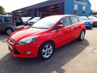 USED 2013 13 FORD FOCUS 1.6 ZETEC 5d 104 BHP FULL SERVICE HISTORY