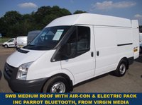 2011 FORD TRANSIT 280 SWB MEDIUM ROOF WITH AIR-CON FROM VIRGIN MEDIA £6795.00