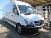 2015 MERCEDES-BENZ SPRINTER 313 CDi LWB High roof *ONLY 34000 MILES* £13995.00