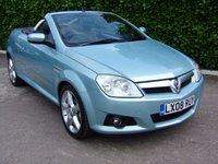 USED 2008 08 VAUXHALL TIGRA 1.4 EXCLUSIV 16V 2d 90 BHP