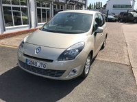 USED 2010 60 RENAULT SCENIC 1.5 PRIVILEGE 7 SEATER TOMTOM DCI FAP 5d 109 BHP 7 Seater, Full Main Dealer Service History, Sat Nav, Bluetooth