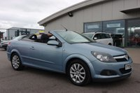 USED 2006 56 VAUXHALL ASTRA 1.8 TWIN TOP SPORT 3d 140 BHP LOW DEPOSIT OR NO DEPOSIT FINANCE AVAILABLE.