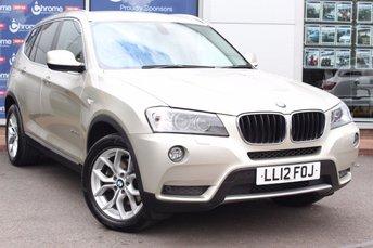 2012 BMW X3 2.0 XDRIVE20D SE 5d AUTO 181 BHP £16980.00