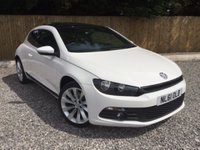 USED 2011 61 VOLKSWAGEN SCIROCCO 2.0 GT 3d 211 BHP **PANORAMIC SUNROOF**