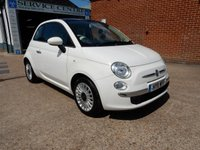 USED 2011 11 FIAT 500 1.2 LOUNGE 3d 69 BHP GREAT LITTLE CAR WITH FULL HISTORY AND BOTH KEY'S