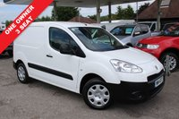 USED 2014 14 PEUGEOT PARTNER 1.6 HDI SE L1 625 1d 74 BHP 3 Seats, One Owner, Finance Arranged.