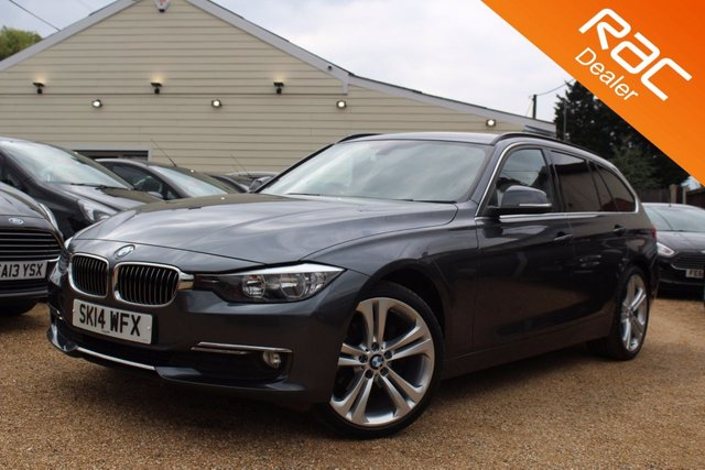 View our 2014 14 BMW 3 SERIES 2.0 320D LUXURY TOURING 5d 181 BHP