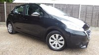 USED 2012 12 PEUGEOT 208 1.2 ACCESS PLUS 5dr £20/Yr tax, Cruise