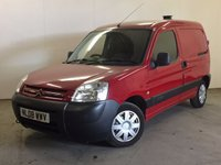 USED 2008 08 CITROEN BERLINGO 1.6 600 ENTERPRISE SWB H/C HDI 1d 74 BHP MOT 04/18 STUNNING RED MET WITH CONTRASTING GREY CLOTH TRIM. 2 SEATER. PAS. R/CD PLAYER. EW. CL. MOT 04/18. AGE/MILEAGE RELATED SALE. TEL 01937 849492