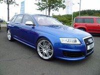 USED 2008 AUDI A6 5.0 RS6 AVANT TFSI QUATTRO 5d AUTO 572 BHP HUGE SPECIFICATION , FULL SERVICE HISTORY, DIRECTORS PERSONAL VEHICLE