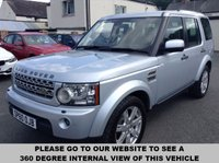 USED 2010 60 LAND ROVER DISCOVERY 4 TDV6 3.0 XS 5d AUTO 245 BHP 7-seats,             Full leather upholstery, heated seats, heated front screen, front and rear parking sensors