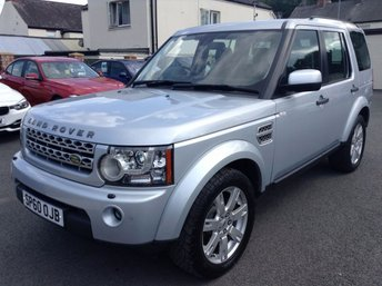 2010 LAND ROVER DISCOVERY 4 TDV6 3.0 XS 5d AUTO 245 BHP £17850.00